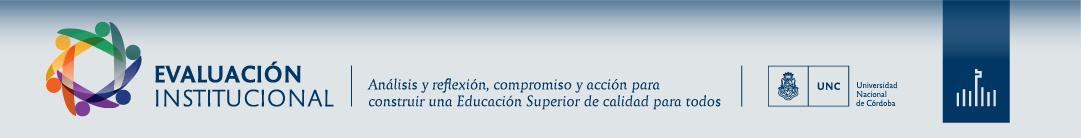 UNC | Evaluación institucional